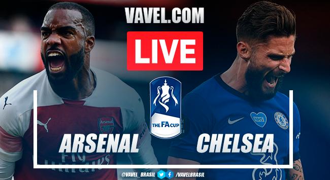 Gols e melhores momentos para Arsenal 2x1 Chelsea pela Copa da Inglaterra 2020