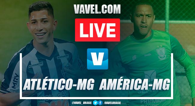 Gols e melhores momentos Atlético-MG 2x1 América-MG