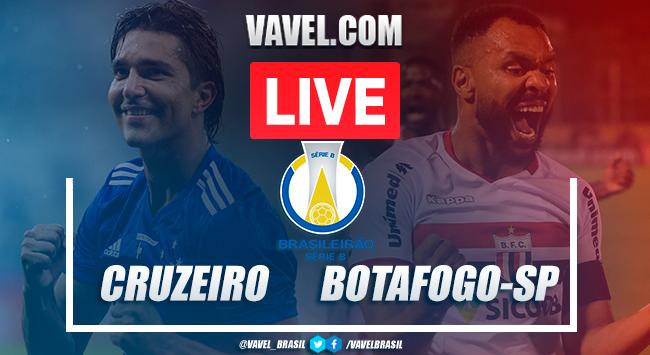 Gols e melhores momentos Cruzeiro 2x1 Botafogo-SP AO VIVO pela Série B do Campeonato Brasileiro