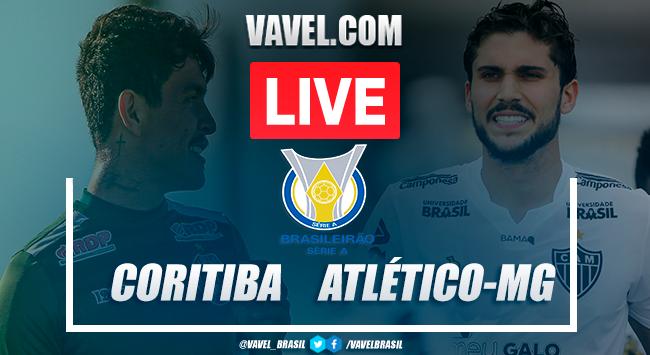 Gols e melhores momentos Coritiba 0x1 Atlético-MG pelo Campeonato Brasileiro