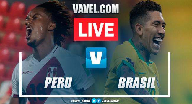 Gols e melhores momentos Peru 2x4 Brasilpelas Eliminatórias da Copa do Mundo