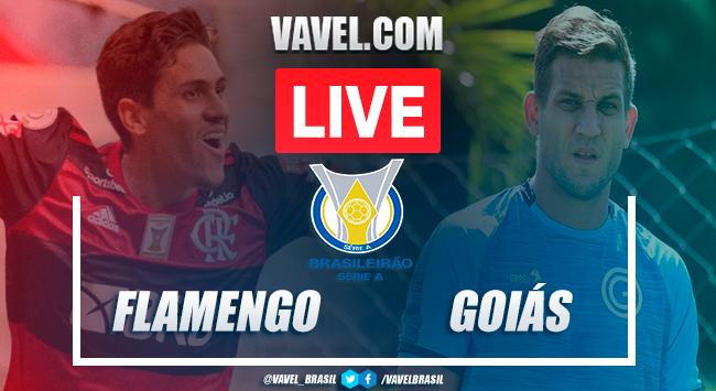 Gols e melhores momentos de Flamengo x Goiás no Brasileirão (2-1)