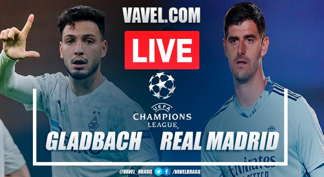 Gols e melhores momentos Borussia Mönchengladbach 2x2 Real Madrid pela Champions League