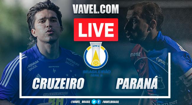 Gols e melhores momentos Cruzeiro 2x0 Paraná pela Série B