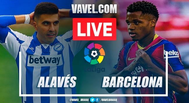 Gols e melhores momentos Alavés 1x1 Barcelona em LaLiga