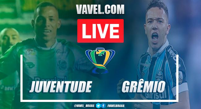 Gols e melhores momentos Juventude 0x1 Grêmio pela Copa do Brasil