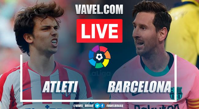 Gols e melhores momentos Atlético de Madrid 1x0 Barcelona em LaLiga