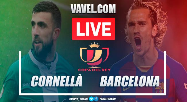 Gols e melhores momentos Cornellà 0x2 Barcelonapela Copa do Re