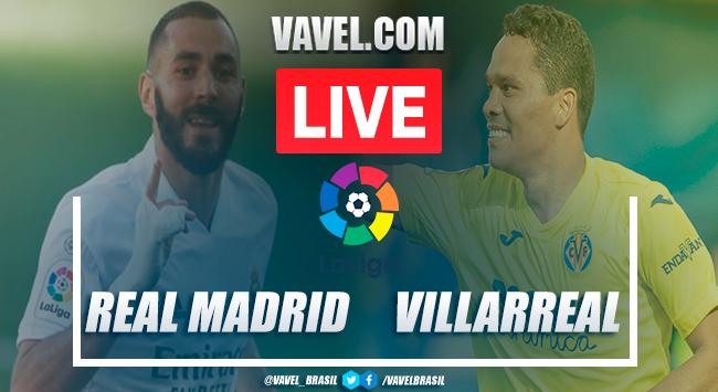 Gols e melhores momentos Real Madrid x Villarreal pela LaLiga (2-1)