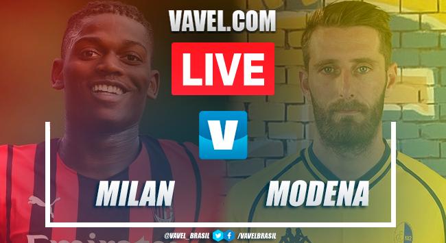 Gols e melhores momentos Milan x Modena pelo amistoso internacional (5-0)