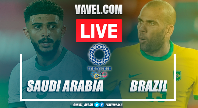 Goals and Highlights: Saudi Arabia 1-3 Brazil in Olympic Games Tokyo 2020