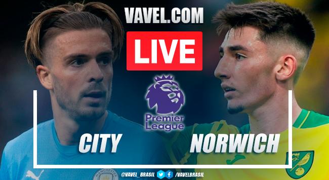 Gols e melhores momentos Manchester City x Norwich pela Premier League
