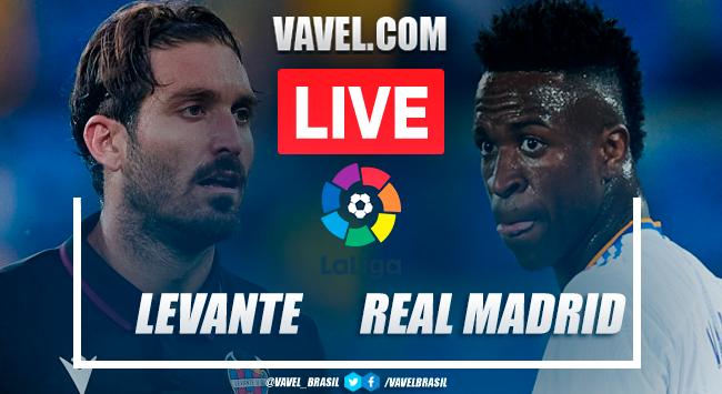 Gols e melhores momentos Levante x Real Madrid pela LaLiga (3-3)