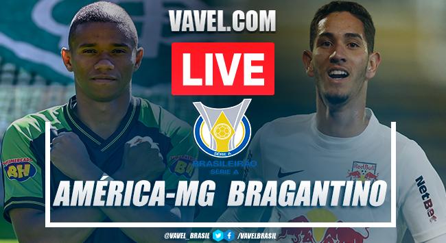 Gols e melhores momentos América-MG x RB Bragantino pelo Campeonato Brasileiro (0-1)
