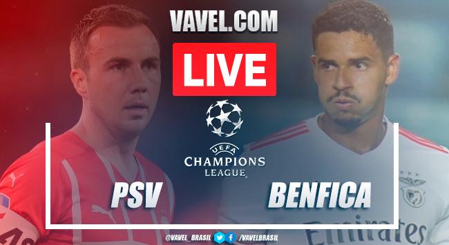 Melhores momentos PSV x Benfica pela Champions League (0-0)