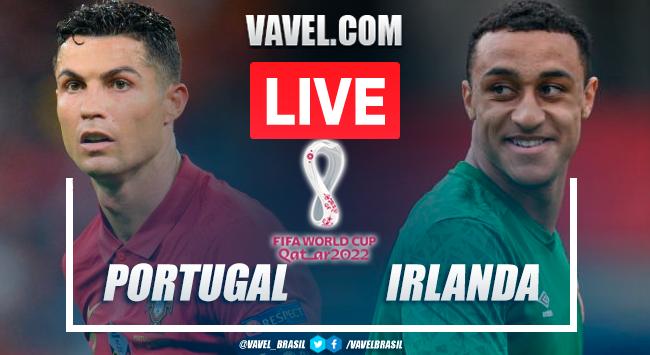 Gols e melhores momentos Portugal x Irlanda pelas Eliminatórias da Copa do Mundo (2-1)