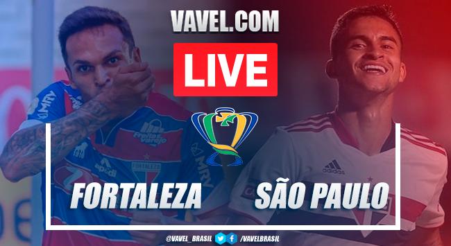 Gols e melhores momentos Fortaleza x São Paulo pela Copa do Brasil (3-1)
