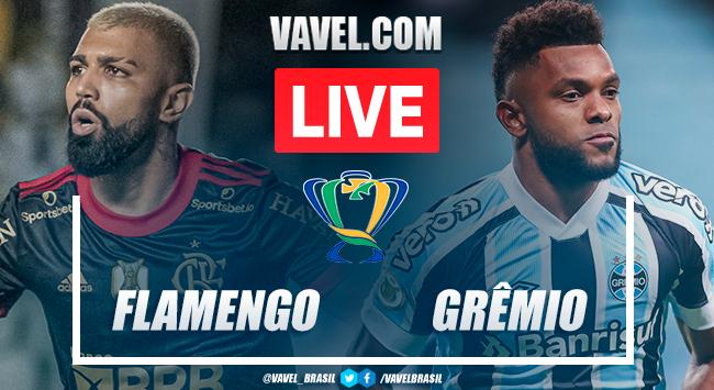 Gols e melhores momentos Flamengo x Grêmio pela Copa do Brasil 2021 (2-0)