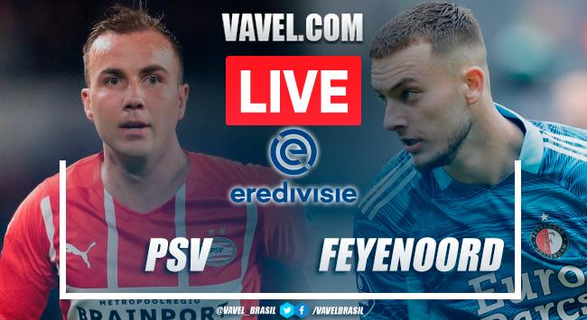 PSV Eindhoven x Feyenoord pela Eredivisie (0-3)