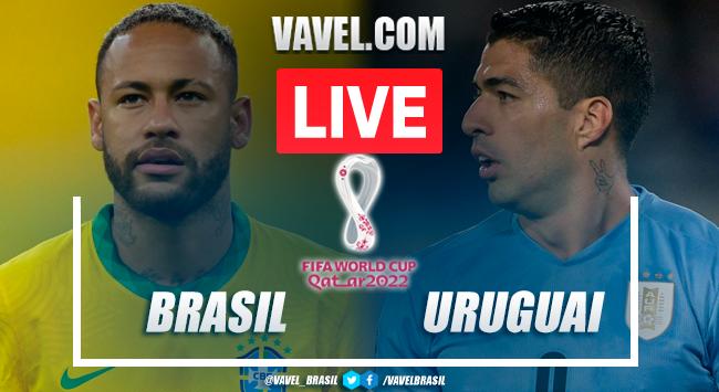 Gols e melhores momentos Brasil x Uruguai pelas Eliminatórias da Copa do Mundo (3-0)