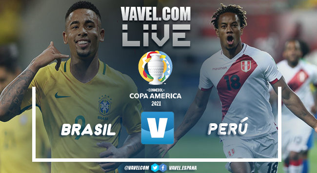 Resumen Brasil vs Perú por la Copa América (4-0)