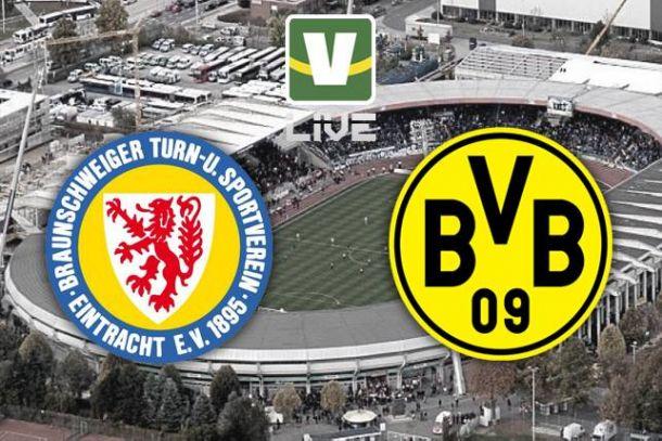 Eintracht Braunschweig x Borussia Dortmund, Bundesliga