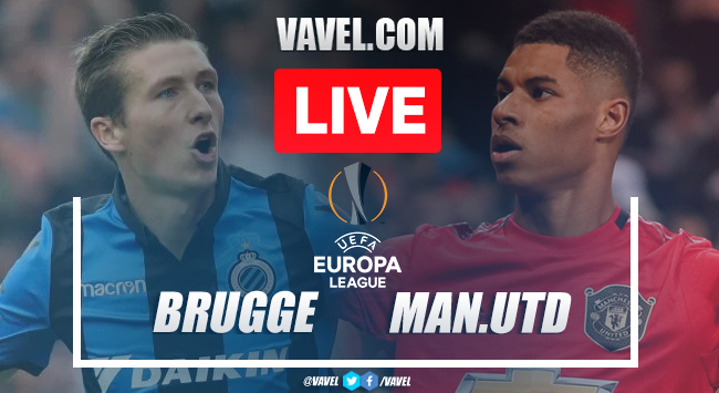 As It Happened: Manchester United and Club Brugge settle for a 1-1 draw in the 1st leg of their Europa League Round of 32 tie.