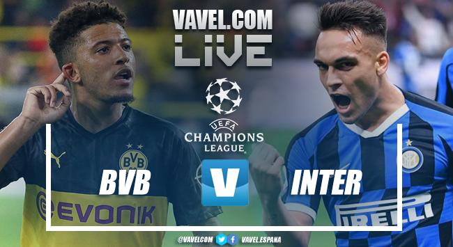 Resumen Borussia Dortmund 3-2 Inter de Milán en UEFA Champions League 2019