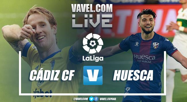 Resumen Cádiz CF vs SD Huesca en LaLiga 2021