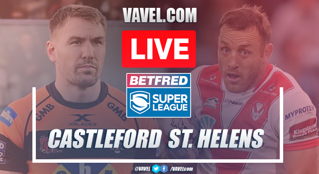 As it happened: Castleford Tigers record 28-14 win at home to St Helens