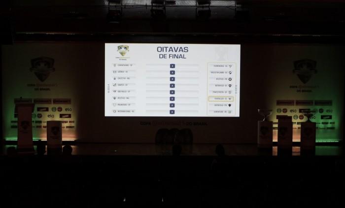 Sorteio dos mandos das oitavas da Copa do Brasil 2016