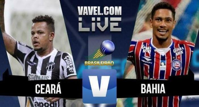 Resultado Ceará x Bahia pela Série B do Campeonato Brasileiro (1-0)