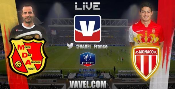 Live Chasselay - AS Monaco, le match en direct (Coupe de France)