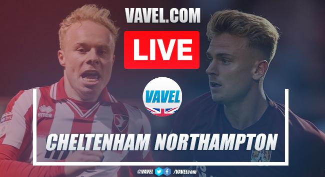 As it happened: Cheltenham Town 0-3 Northampton Town (2-3 agg)