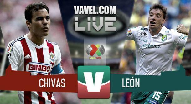 Resultado Chivas - León en la Liga MX 2015(1-0)