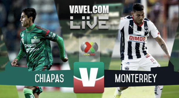 Resultado Chiapas - Monterrey en Liga MX 2015 (0-2)