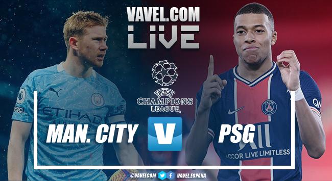 Gols e melhores momentos de Manchester City x Paris Saint-Germain (2-0)