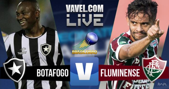 Resultado Botafogo x Fluminense no Brasileirão 2016 (1-0)