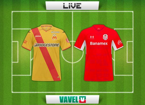 Resultado Morelia - Toluca en la Liga MX 2015 (0-0)