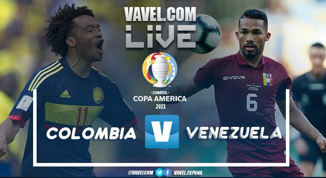 Resumen Colombia 0-0 Venezuela por la Copa América 2021