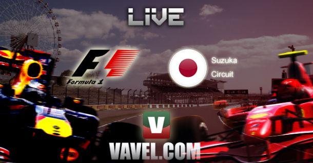 GP do Japão 2014 de F1, direto