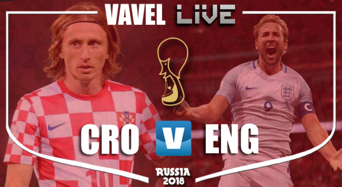 Resumen Croacia 2-1 Inglaterra en Mundial Rusia 2018