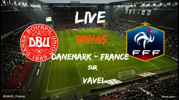 Revivez Danemark - France en direct live