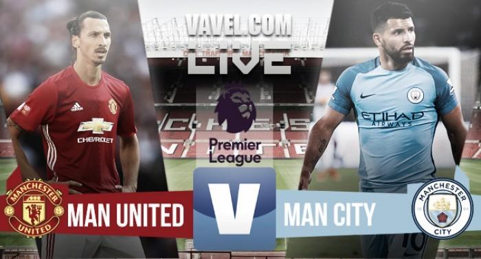 Resultado Manchester United x Manchester Citypela Premier League 2016/17 (1-2)