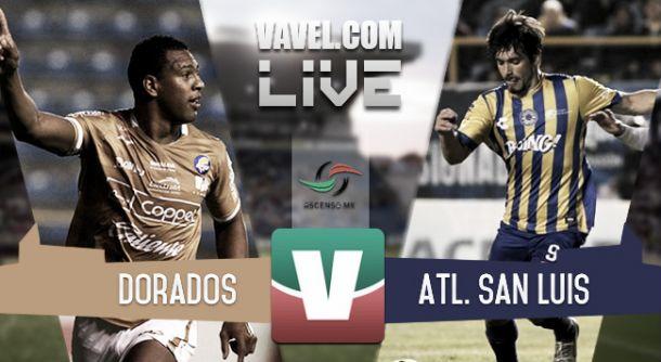 Resultado Dorados - San Luis en Final Ascenso MX 2015 (3-0)