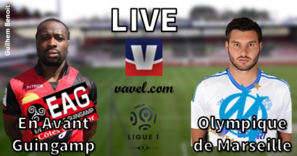Live Ligue 1 : En Avant Guingamp - Olympique de Marseille, en direct
