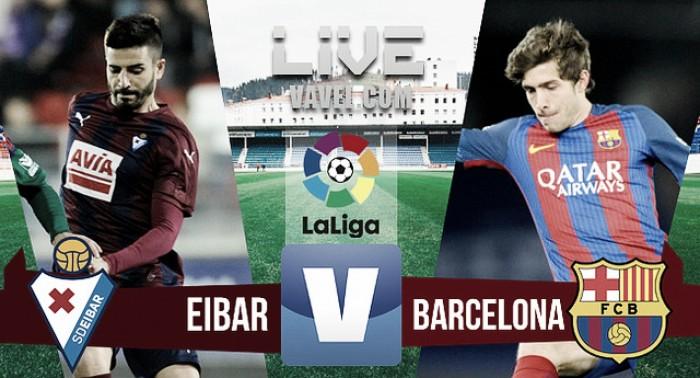 Resumen Eibar 0-4 Barcelona en la Liga 2017