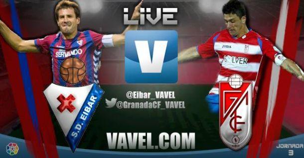 Resultado partido Eibar vs Granada en vivo y en directo