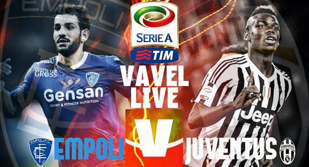 Risultato Empoli - Juventus di Serie A 2015/16 (1-3): Evra, Mandzukic e Dybala rialzano la Juve