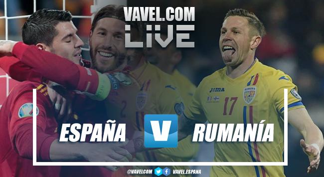 Resumen del España 5-0 Rumanía en Fase Clasificación Euro 2020